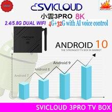[Подлинный] 2021 SVICLOUD 3PRO 8K 4G/32G Версия 10,0 dual wifi горячая Распродажа в Сингапуре Малайзия США Канада NZ AUS Life pk evpad