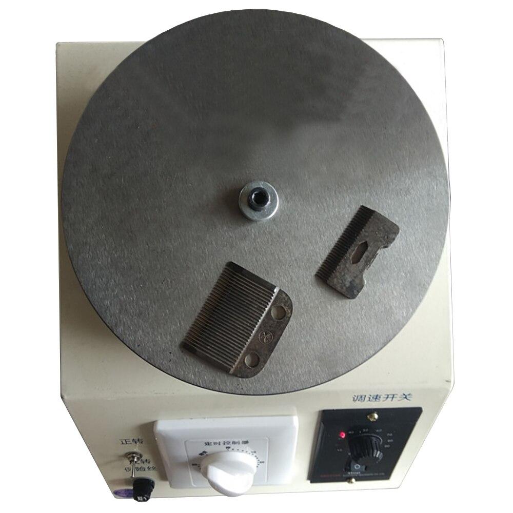 220 v elétrica polisher afiador de faca tesoura cabeleireiro manicure faca especial para pet clipper cabelo elétrica
