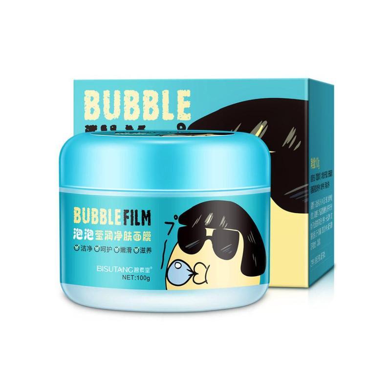 1pcs Foam Moisturizing Whitening Oil Control Shrink Pores Skin Care Facial Mask Bubble Washable Detox Mask For Face Liqud Care