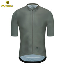 YKYWBIKE 2020 Breathable Pro Cycling Jersey Summer Mtb Clothes Short Bicycle Clothing Ropa Maillot Ciclismo Bike Wear cheap Polyester Cycling Jerseys Spring AUTUMN Full Zipper Fits true to size take your normal size Anti-Wrinkle Anti-Pilling Pockets