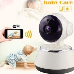 720P HD مراقبة الطفل اللاسلكية المحمولة واي فاي IP الذكية للرؤية الليلية الطفل المنزل Viewe الصوت سجل الطفل النوم مشاهدة أدوات