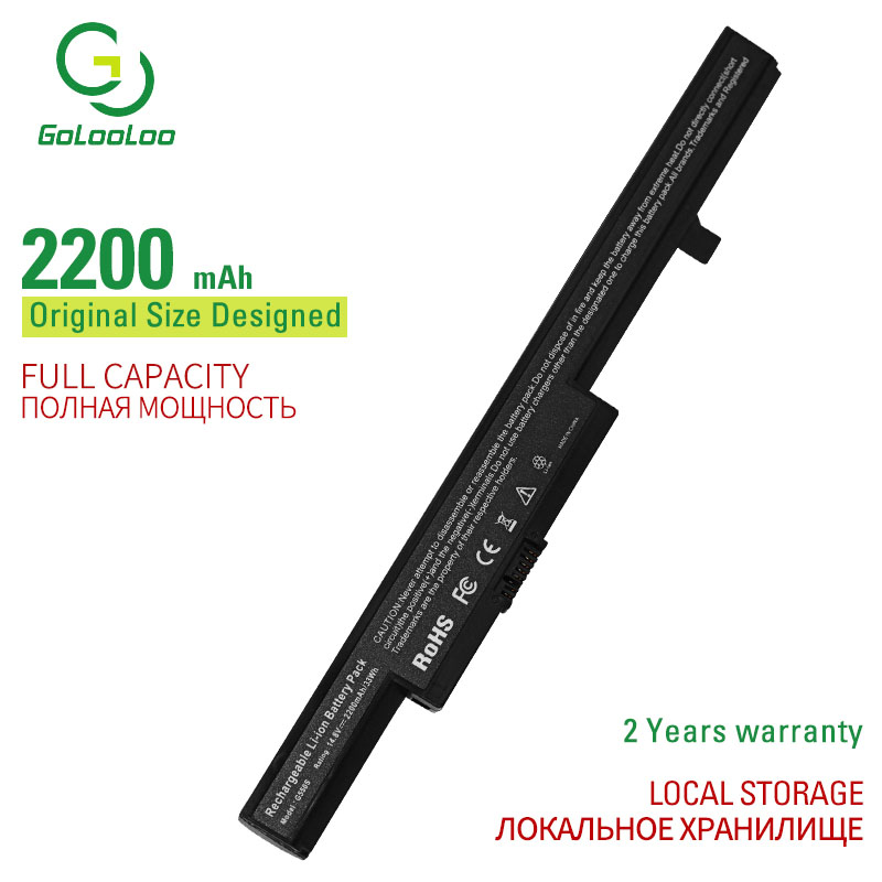 Golooloo 4 Cells Laptop Battery G550S L13L4A01 L13M4A01 L12L4E55 For LENOVO Eraser B40 Eraser B40-70 Eraser B50 Eraser B50-45