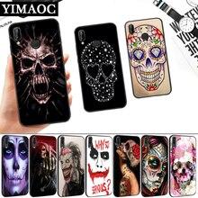 Grim Reaper Skull Silicone Soft Case for Huawei P8 P9 P10 P20 P30 Lite Pro P Smart Z Plus