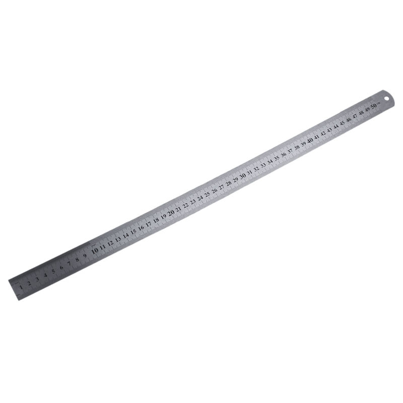 Groove Right Stainless Steel Metric Ruler 50 Cm Stainless Metric Ruler