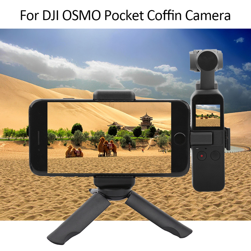 Mobile Phone Holder Mount Set Fixed Stand Bracket for DJI for OSMO Pocket Coffin Camera Stand Desktop Tripod for IPhone Stand