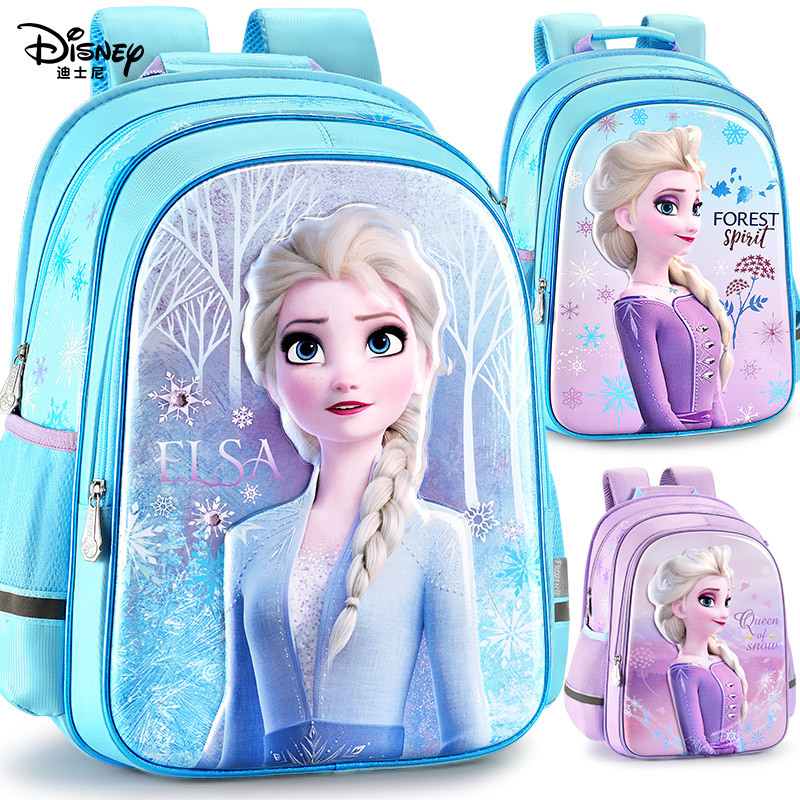 SCHOOL AND TRAVEL BAG CHILDREN KID BACKPACK FROZEN ANNA AND ELSA
