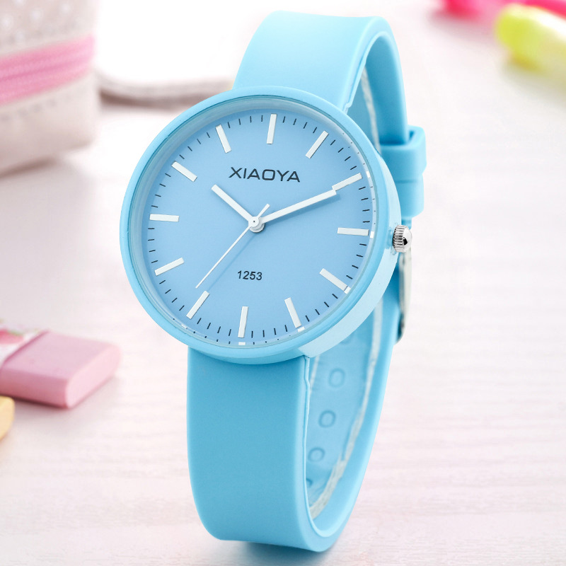 Children's watch women's fashion trend Korean version of the simple and lovely student children's watch small fresh quartz watch