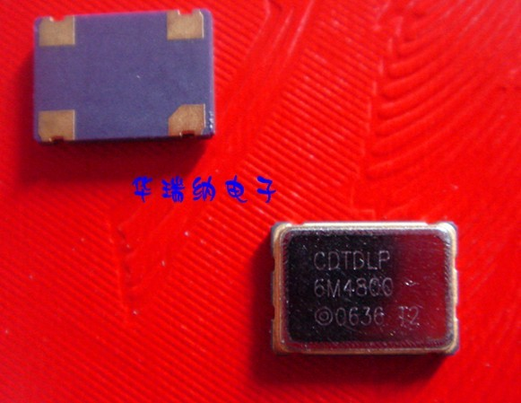 5pcs 100% New And Orginal Active Patch 6.48MHZ Crystal OSC 5X7 5070 6.480m 6.480Mhz SMD