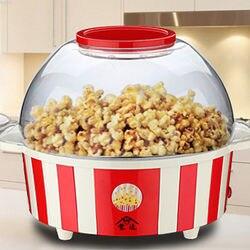 220V 5L  Home Spherical Popcorn Machine Fully Automatic Childrens Electric Popcorn Machine Popcorn Maker popcorn