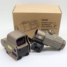 Cerchio ibrido olografico di vista II 65 MOA di 558 EX-PS3-0 con il supporto staccabile rapido di G33 3X MAGNIF QD