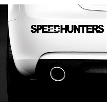 цена на 55*7CM SPEEDHUNTER Car Sticker Universal Auto SUV Stickers Decal Trim Car Styling Auto Accessories