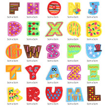 Letter Embroidery Patches For Clothing DIY Iron On Patches On Clothes Patch Custom Patch()