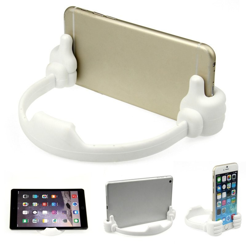 Portable mobile cell phone tablet Thumb holder support stents For Micromax iOne Bharat 1 2018 V409 4 Diwali 5 Infinity Edition