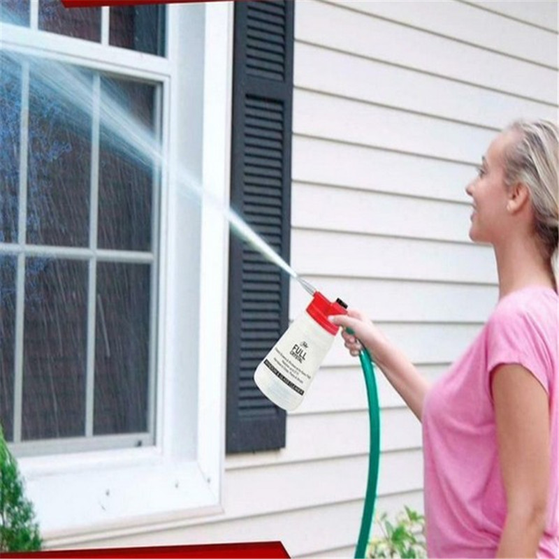 Window Brush Spray Bottle Crystal Cleaning Can Watering Full Window Cleaner Glass Cleaning Spray Bottle For Washing Windows