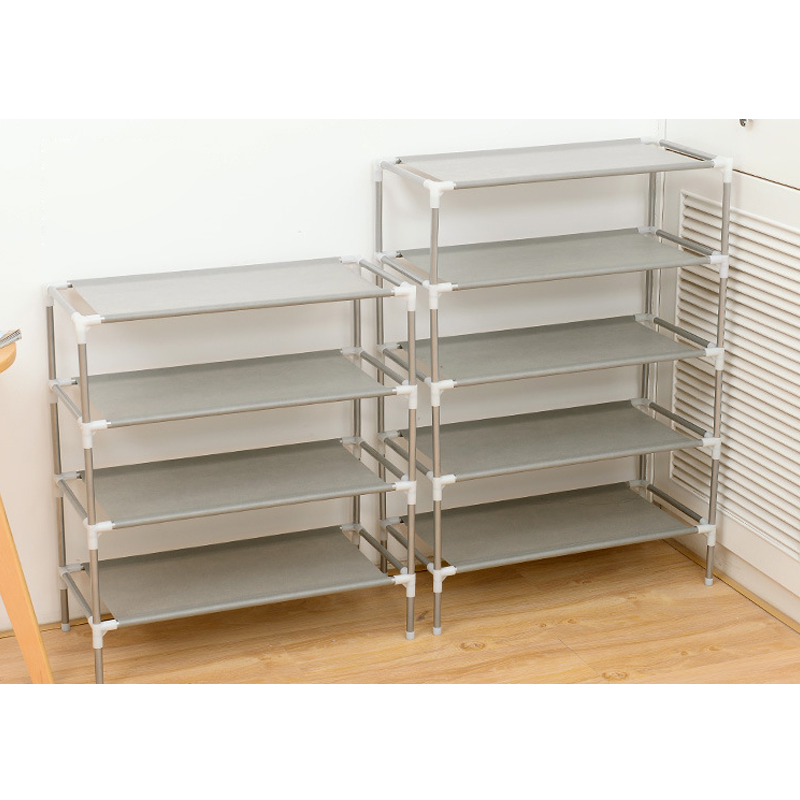 Multi-functional multi-layer shoe rack save space dormitory shoe rack home simple non-woven shoe rack storage shoe rack H99F