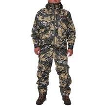 2019 kurtka myśliwska suiCamouflage mężczyźni wodoodporna odzież myśliwska kurtka wiatrówka płaszcz ten sam akapit sitka