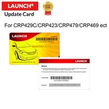 STARTEN Offizielle Shop Pin karte software update karte unterstützung für X431 CRP429C CRP479 CRP469 X431 CRP423 CRP909E CRP909 CRP909X
