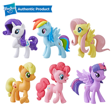 Hasbro My Little Pony Classic 3-Inch Purple Fan Figure Twilight Fluttershy Doll with Molded Hair Presents Collection