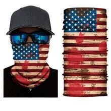 Походный шарф унисекс бесшовная бандана шарфы с национальным