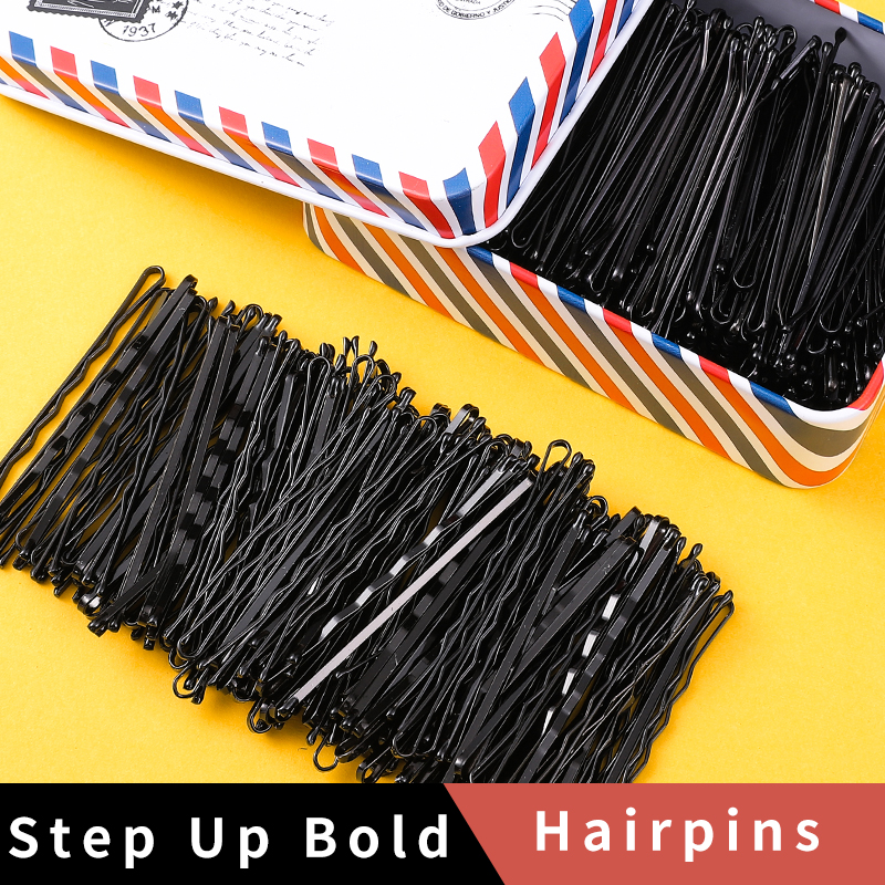 50Pcs/Set Black Hairpins For Women Hair Clip Lady Bobby Pins Invisible Wave Hairgrip Barrette Hairclip Hair Clips Accessories|Hair Clips & Pins| - AliExpress