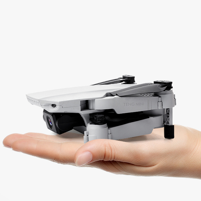 KF609 Mini RC Foldable Drone 4K HD Camera WIFI FPV Pocket Drones Selfie Quadcopter Fixed height Professional dron Helicopter Toy