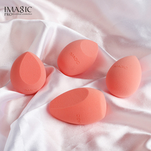 IMAGIC New Makeup Sponge Microfiber Puff Mix Foundation Cream Concealer