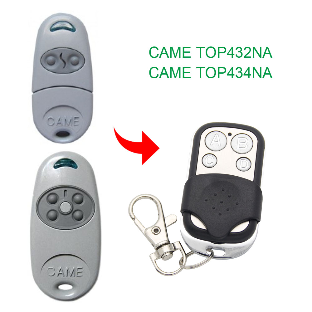 Copy CAME TOP 432NA Duplicator 433.9mhz Remote Control Gate Garage Door CAME TOP-432NA TOP-434NA 433.92MHz Remote Control
