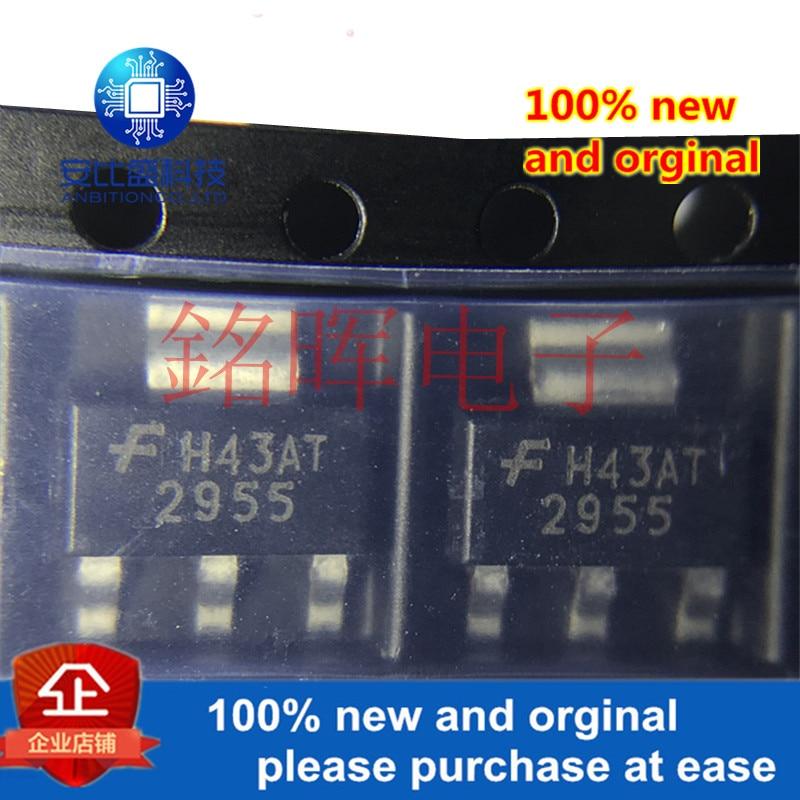 10 шт. 100% новые и оригинальные NDT2955 2955 SOT223 A MOS в наличии