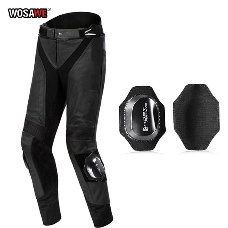 CHCYCLE Motorcycle Racing Pant Powersports Protective Pants Gear Guard Drop Resistance with Protective Pad