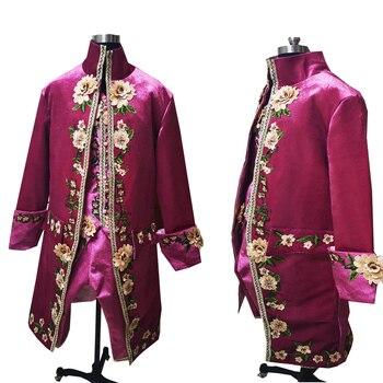 Классические! Куртки + шорты, 3 предмета, мужские длинные пальто с хвостом, винтажные костюмы, мужские костюмы, костюм для сцены в викторианск