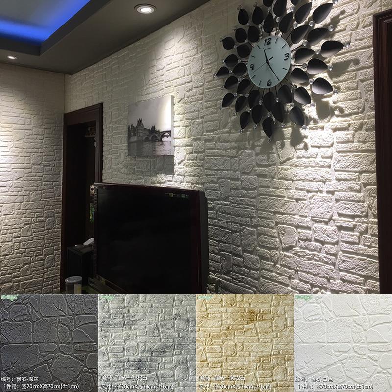 3d стереоскопические обои, Современная Стена для гостиной, учебы, самоклеящаяся, кирпичная детская комната, водонепроницаемая, Papel De Parede