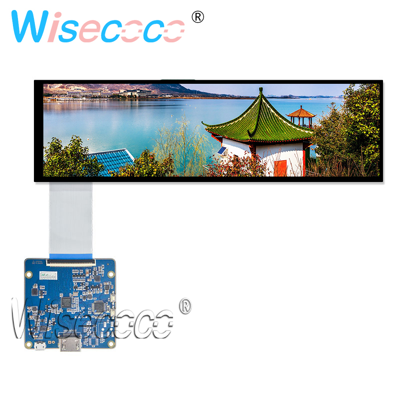 8.8 Inch 1920x480 HSD088IPW1-A00 IPS LCD Module Display Hdmi Mipi Driver Board Car Stretched Bar Screen