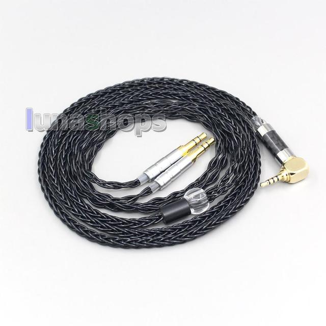 LN006426 8 câble découteurs découteurs de noyau pour Beyerdynamic T1 T5P II AMIRON HOME 3.5mm broche