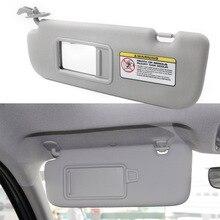 Cinza protetor do pára-sol do carro lado esquerdo viseira 852103x000tx para hyundai elantra 2011 2012 2013 2014 2015