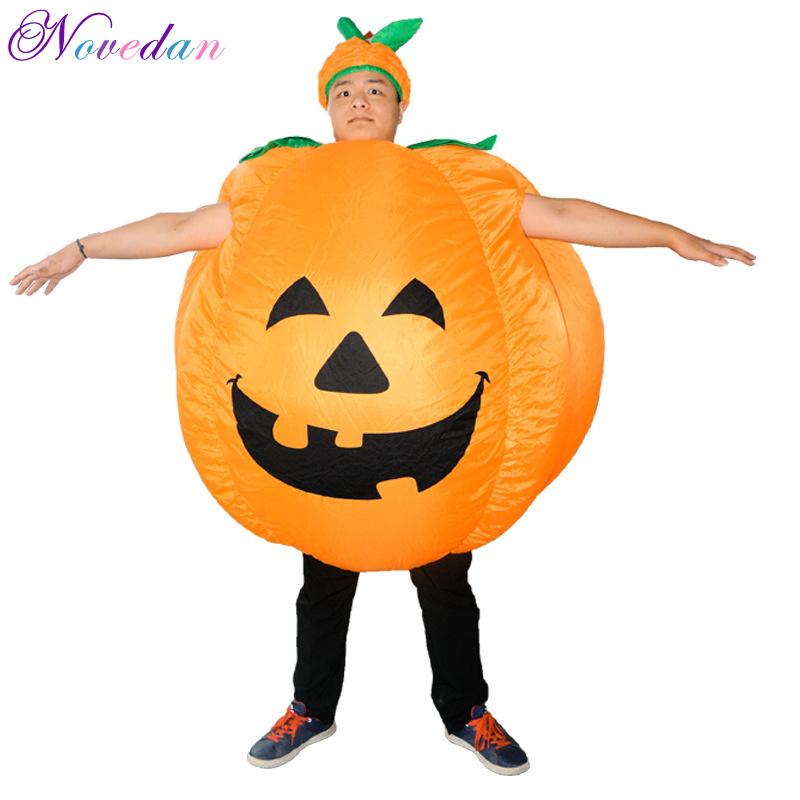 Inflatable Pumpkin Adult Funny Party Cosplay Pumpkin Costume For Women Men Bars Clubs Dance Party Inflatable Costume