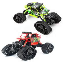 1/18 2WD High Speed RC Off-Road Climbing Crawler Car Vehicle Snow Track Kids Toy gift for children outdoor indoor games(China)