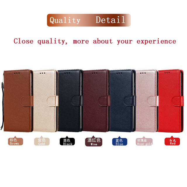 Leather Case For Samsung Galaxy S21 S20 S10 S9 S8 Plus/Ultra/Lite S7 S6 Edge S5 S20FE S10E/Plus Wallet Case For Note 20/10/9/8 6