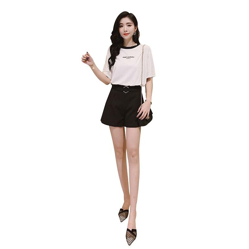 F881 2019 New Autumn Winter Women Fashion Casual Cute Sexy Shorts Outerwear Harajuku  High Waist Shorts