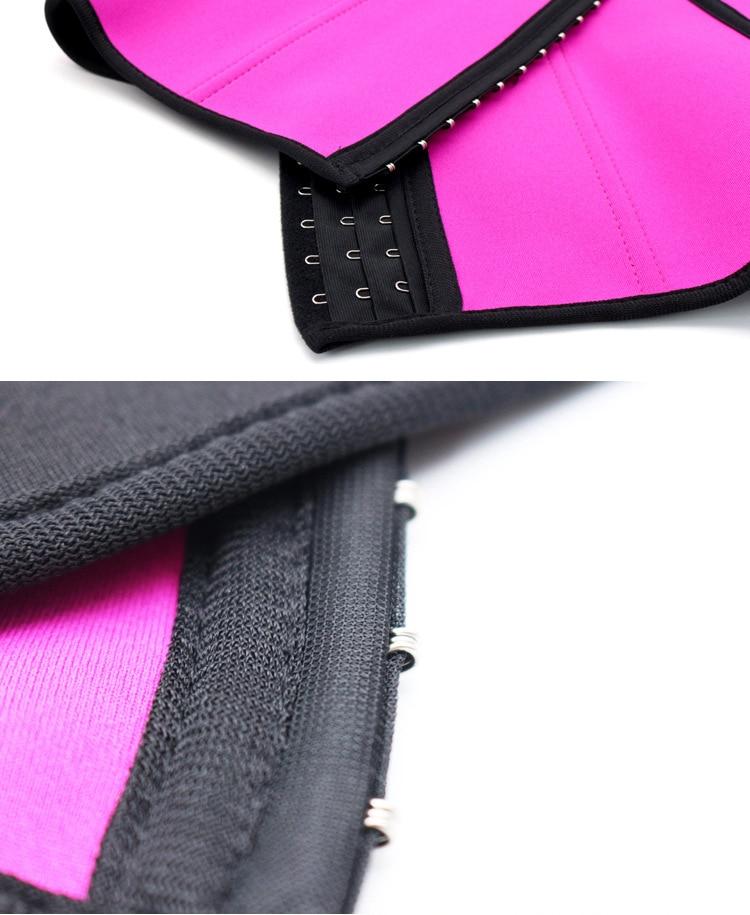 CXZD Waist trainer shapers waist trainer corset Slimming Belt Shaper body shaper slimming modeling strap Belt Slimming Corset (11)
