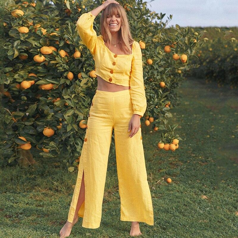 Женский повседневный летний комбинезон, пляжный комбинезон 2020, винтажный комбинезон с длинными брюками, комбинезон в стиле бохо, комбинезо...