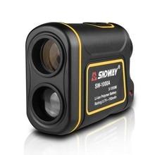 Telescope Laser Rangefinders Distance Meter Battery Digital 600/1000/1500M Monocular Golf Laser Range Finder Tape Measure цены