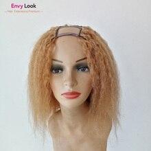 27-Hair Wigs Salon Straight-Frontal-Wig 150-Density Women for Black Upart Envy-Look Kinky