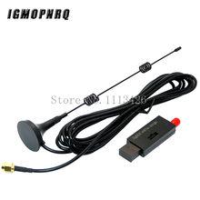 Sem fio zigbee cc2531 2540 sniffer bare board packet protocol analyzer interface usb dongle captura pacote módulo + 8dbi antena