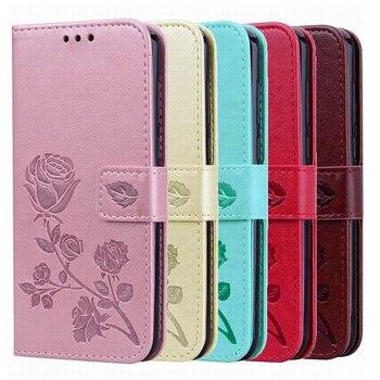 Перейти на Алиэкспресс и купить Чехол-кошелек для Vsmart Active 1 1 + Bee Joy 1 1 + 2 + Live Star plus, новый высококачественный кожаный защитный чехол-книжка для телефона