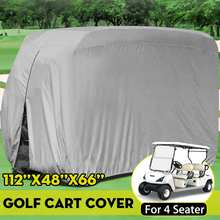 Golf-Cart-Cover Waterproof Club 285x122x168cm 4-Passengers Car-Roof-Enclosure Oxford