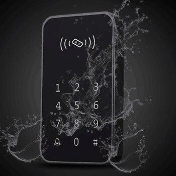 Outdoor community waterproof automatic door wireless smart password keyboard access control
