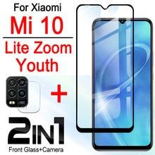 Легкий Чехол для телефона xiaomi mi 10, чехол 2 в 1 для xiaomi mi 10 lite zoom youth, чехол для xiaomi 10, Молодежный защитный бампер с линзами для камеры