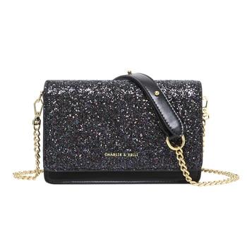 New Stylish Crossbody Bags Women's Fashion Bling Shoulder Bags Girls Party Luxury Mini Messenger Handbags Outdoor Lovely Purses фото