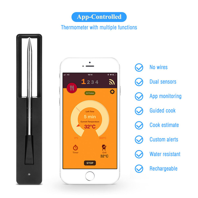 Wireless Meat Thermometer 3