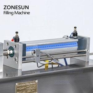 Image 4 - ZONESUN ערבוב מאוד צמיג מזון להדביק קרם אריזה ציוד בקבוק מילוי LiquidsAlcohol ג ל חומר מילוי מכונה
